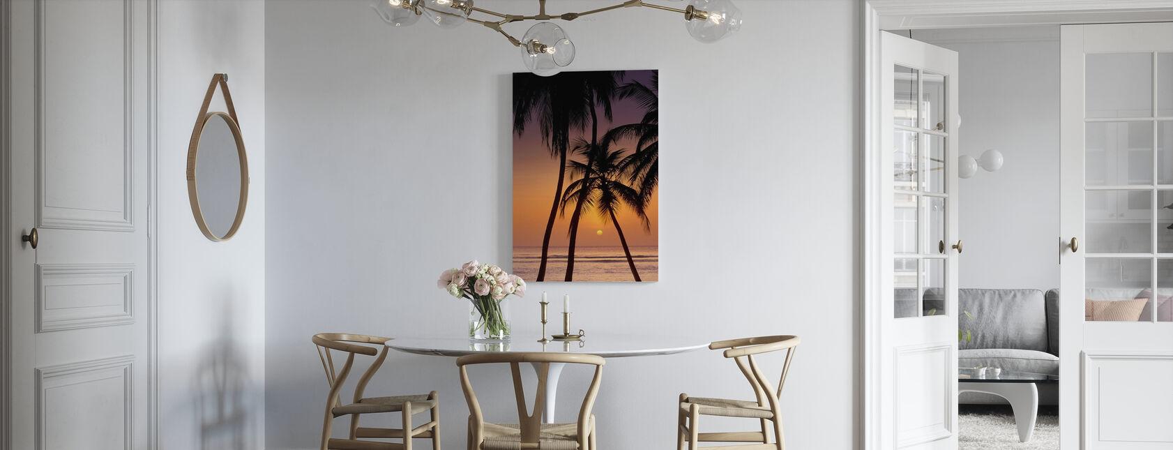 Caribbean Sunset - Canvas print - Kitchen