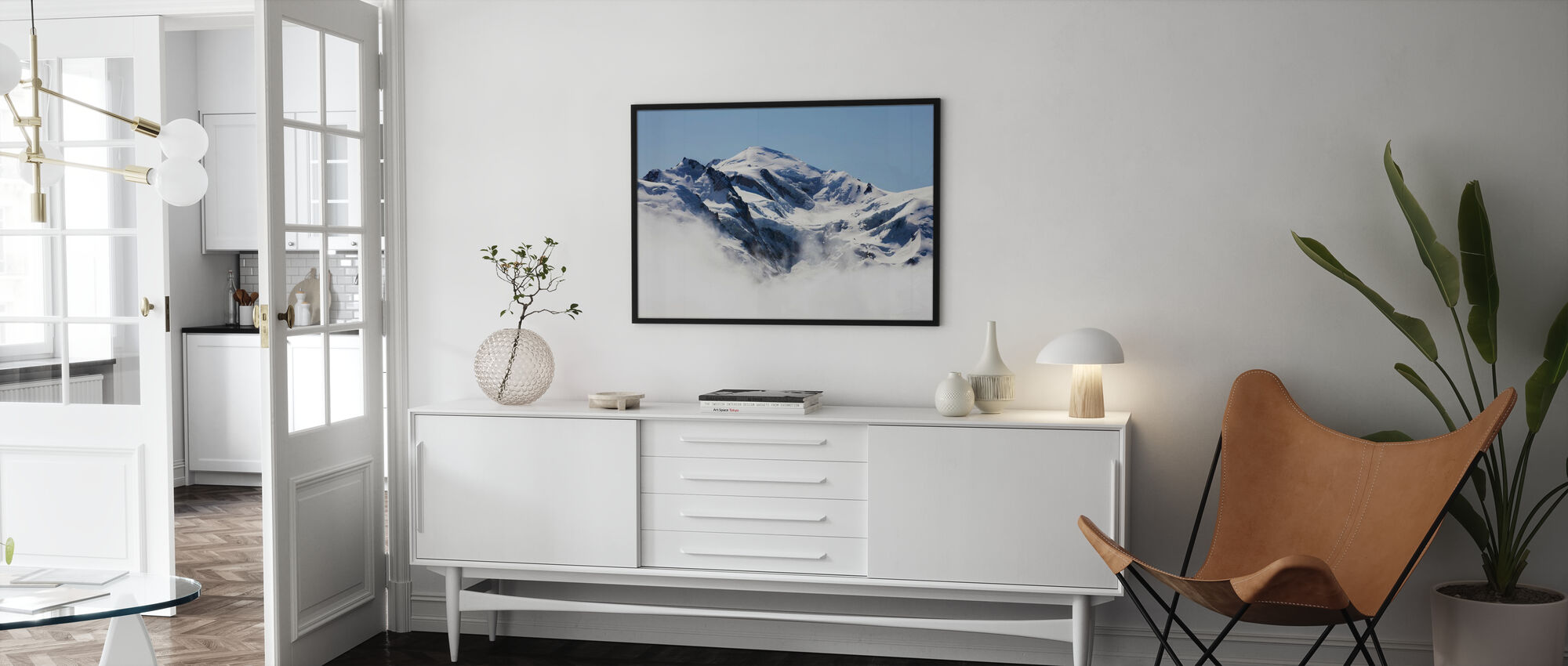 Mont Blanc - Framed print - Living Room