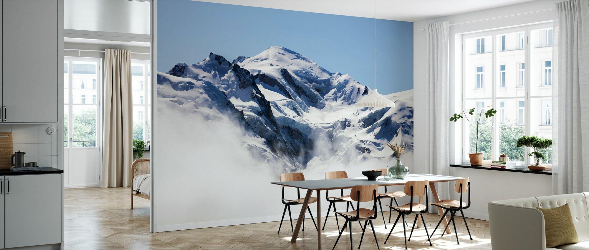 Mont Blanc - Wallpaper - Kitchen