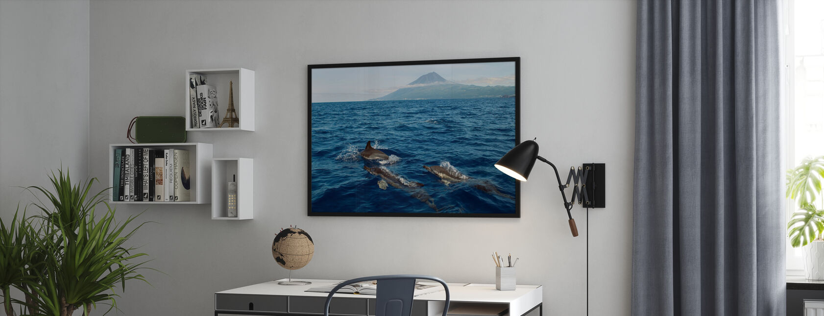 Dolphins in the Azores - Poster - Office