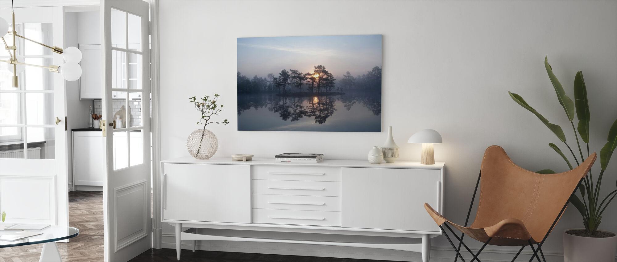 Betoverende mist - Canvas print - Woonkamer