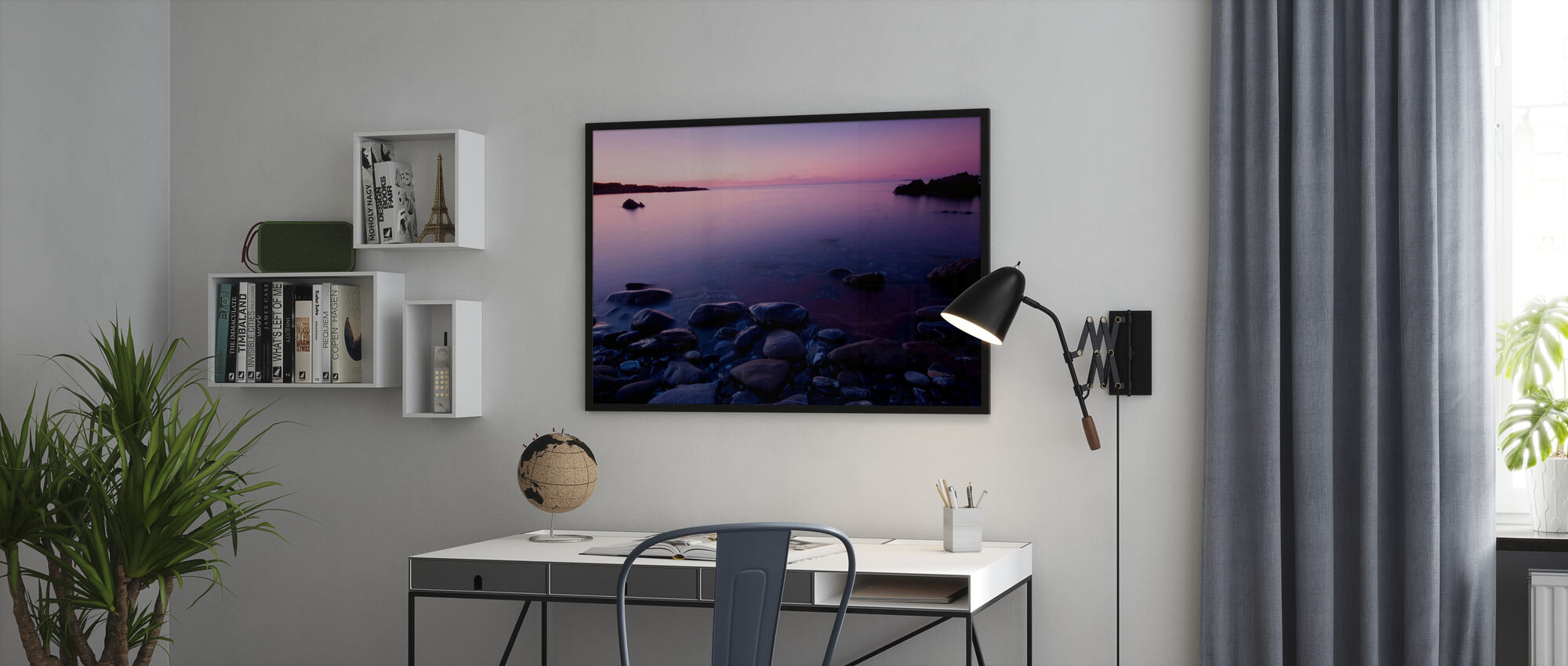 Pink horisont - Plakat - Kontor