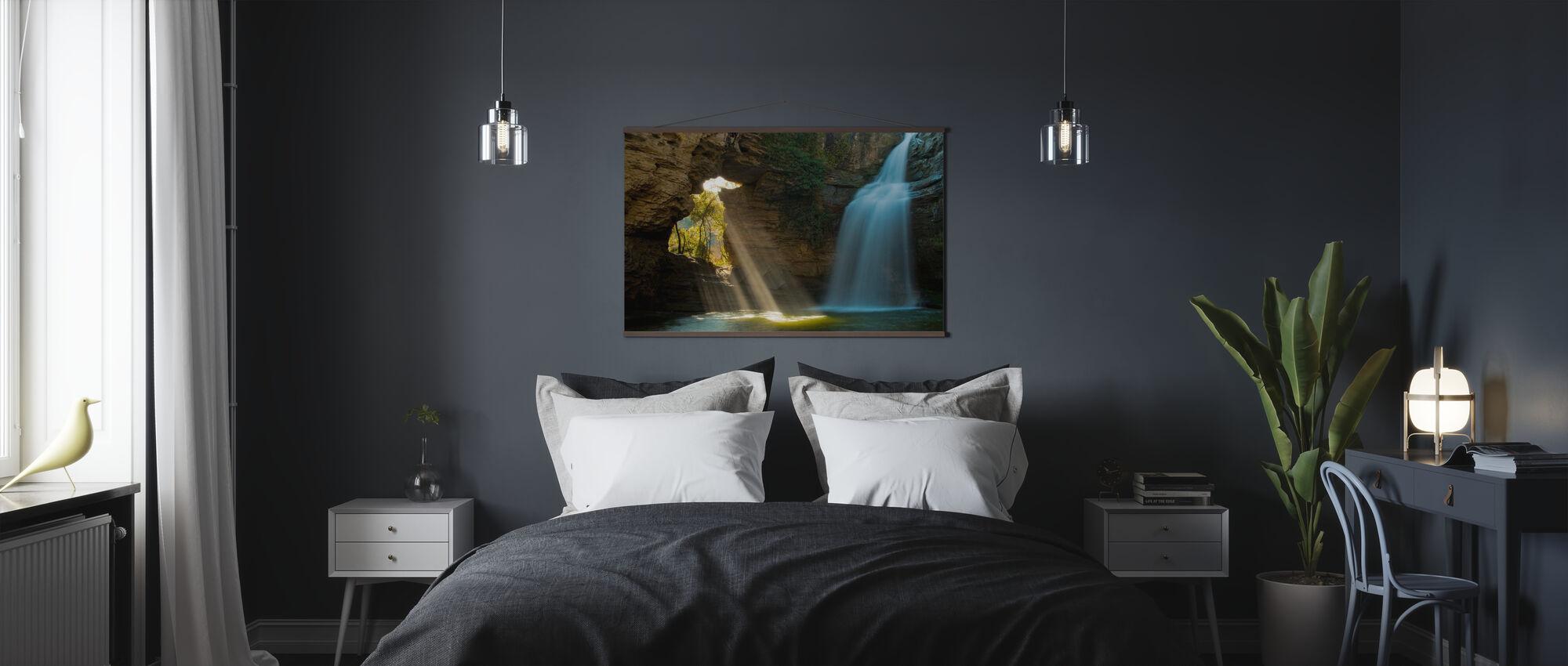 Secret Cave - Poster - Bedroom