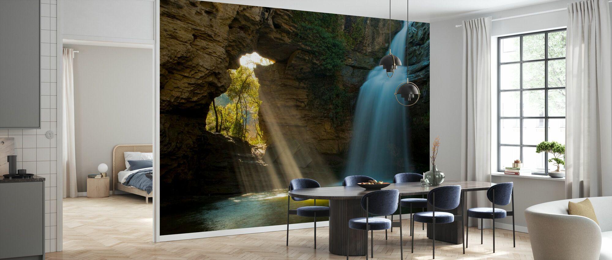 Secret Cave - Wallpaper - Kitchen