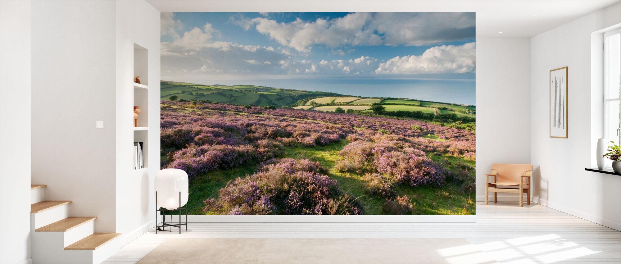 Flowering Heather - Wallpaper - Hallway