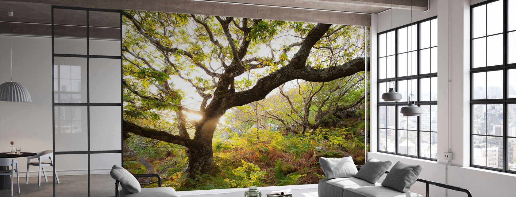 Great Oak Tree - Wallpaper - Office
