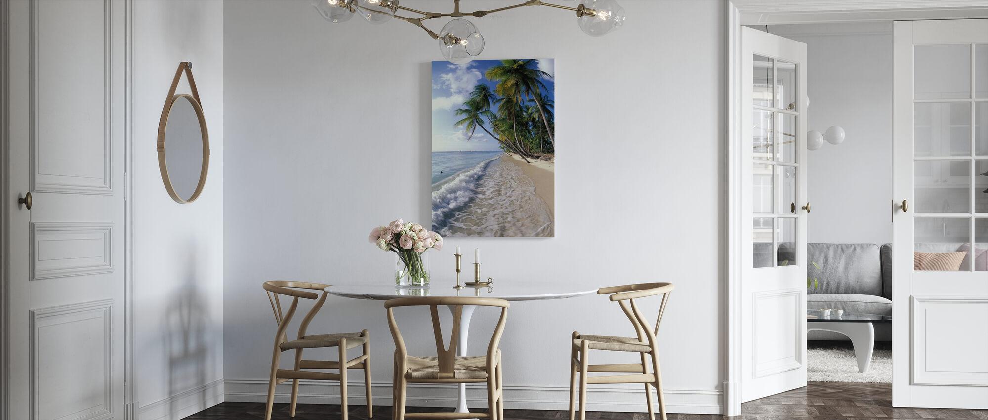 Tropische kust - Canvas print - Keuken