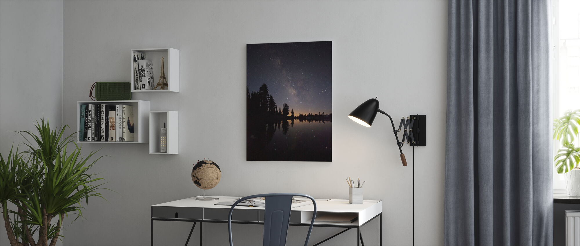Star Lake - Canvas print - Office