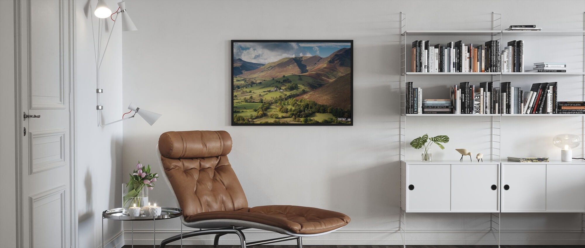 Newlands Valley - Poster - Living Room
