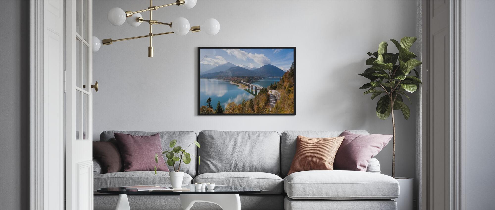 Bavaria - Kehystetty kuva - Olohuone