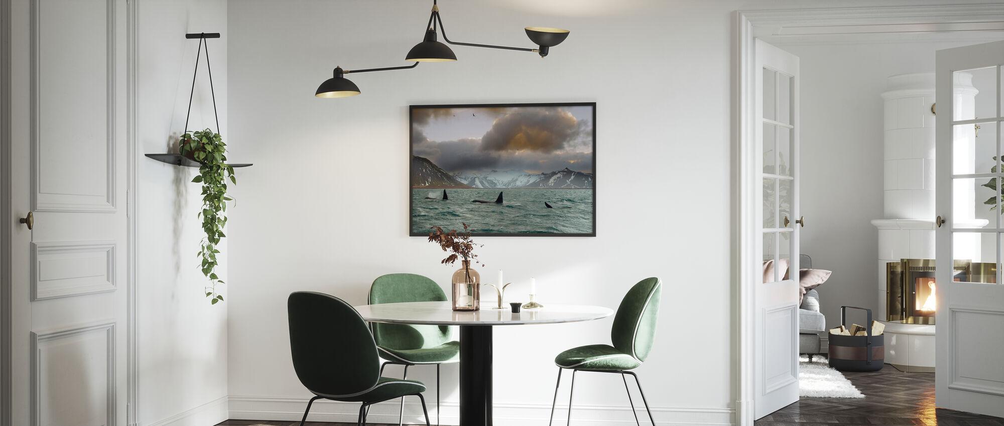 Orcas - Framed print - Kitchen