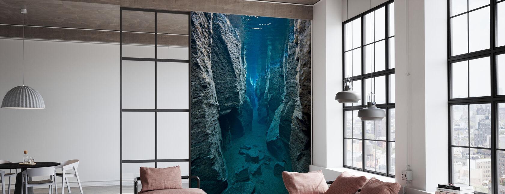 Deep Crack - Wallpaper - Office