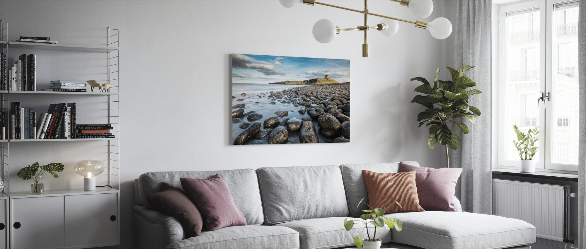 Northumberland - Canvas print - Living Room