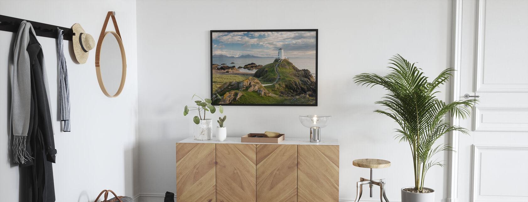 Llanddwyn Island Lighthouse - Poster - Hallway