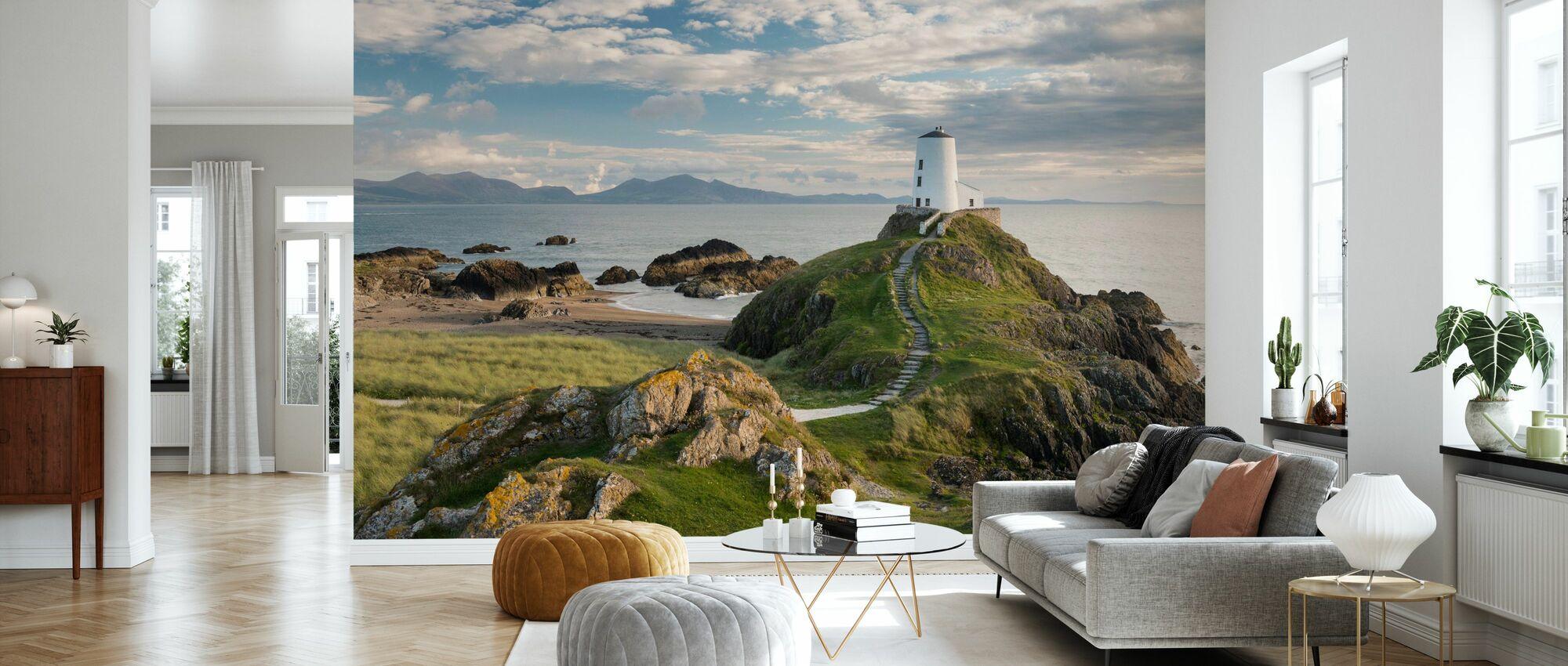 Llanddwyn Island Lighthouse - Wallpaper - Living Room