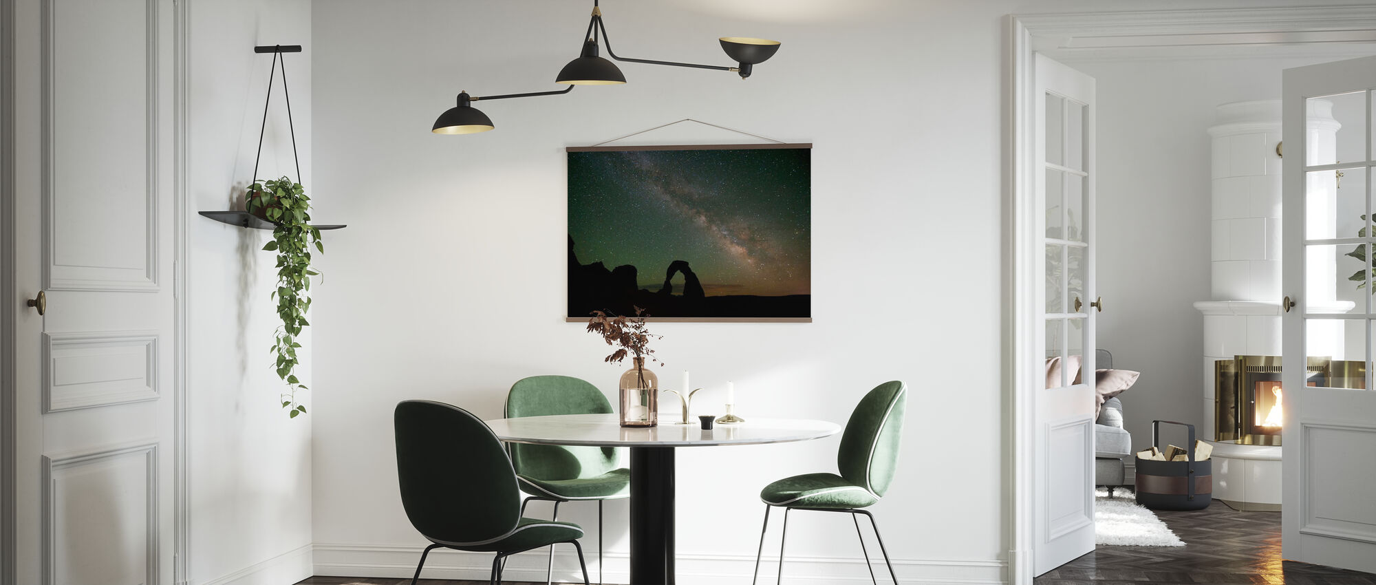 Stenbåge och Vintergatan - Poster - Kök