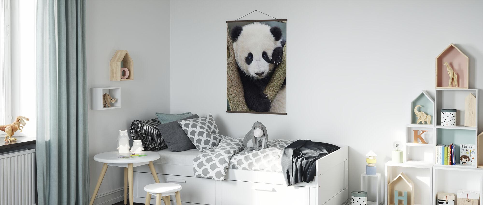 Giant Panda Cub - Poster - Kids Room