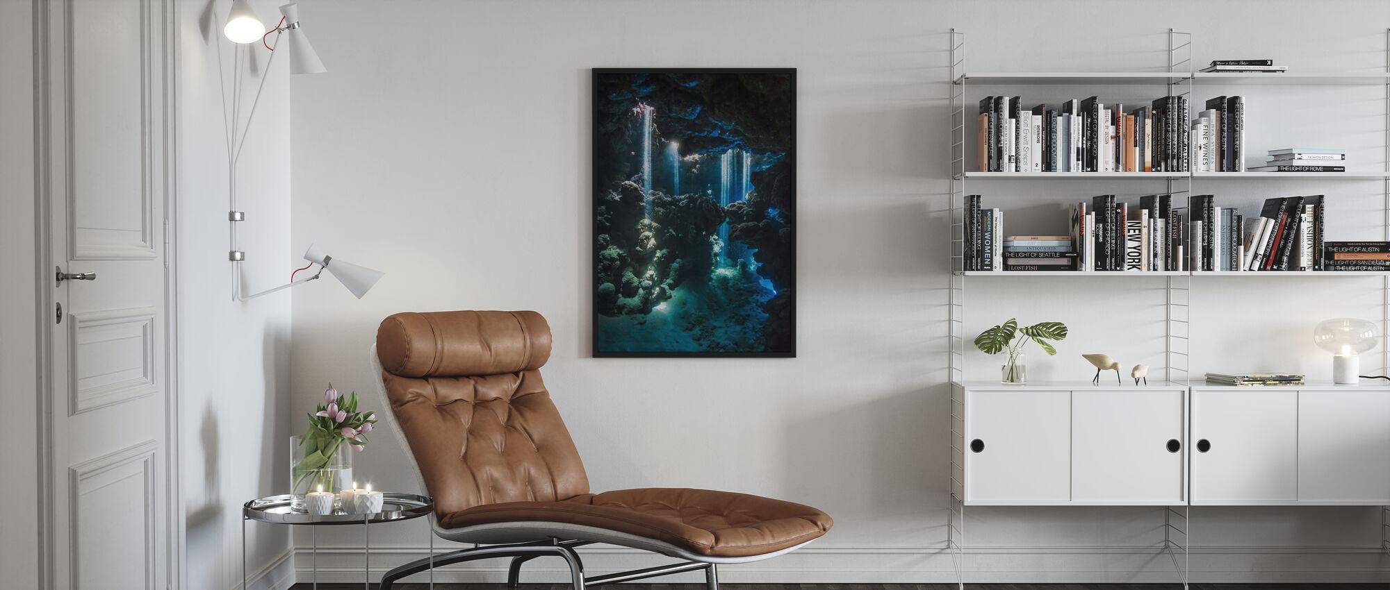 Shafts of Light - Poster - Living Room