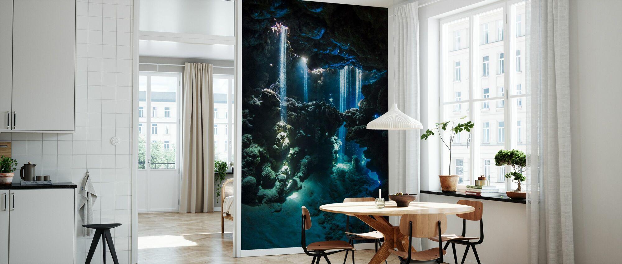 Shafts of Light - Wallpaper - Kitchen