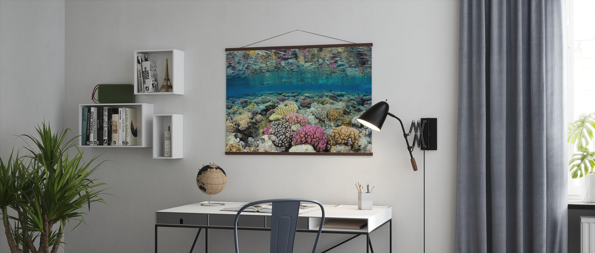 Shallow Reef - Poster - Office