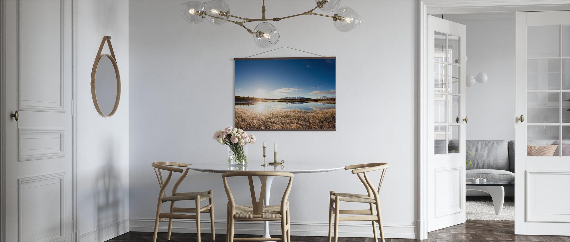 Noord-Zweeds landschap - Poster - Keuken