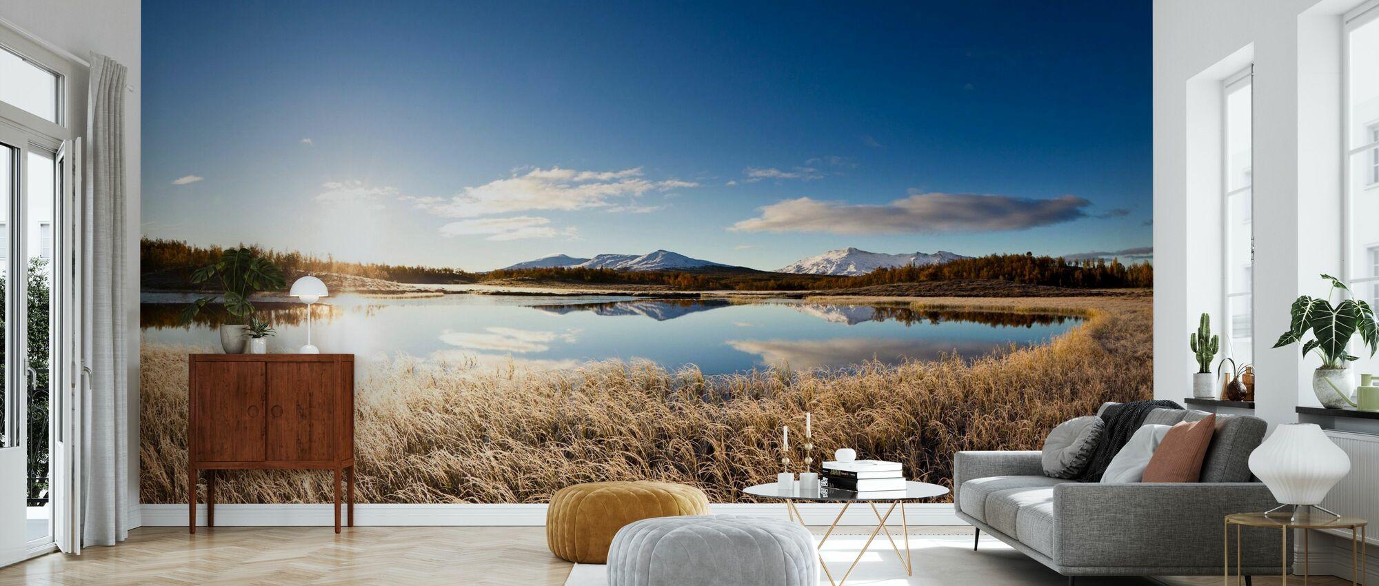 Northern Swedish Landscape - Wallpaper - Living Room