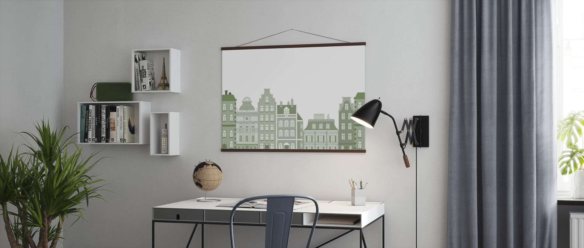 Old Town Green - Poster - Office