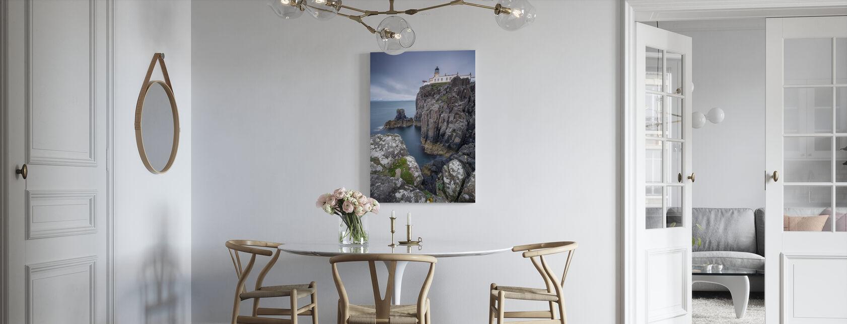 Lighthouse at Neist Point, Isle of Skye - Scotland - Canvas print - Kitchen