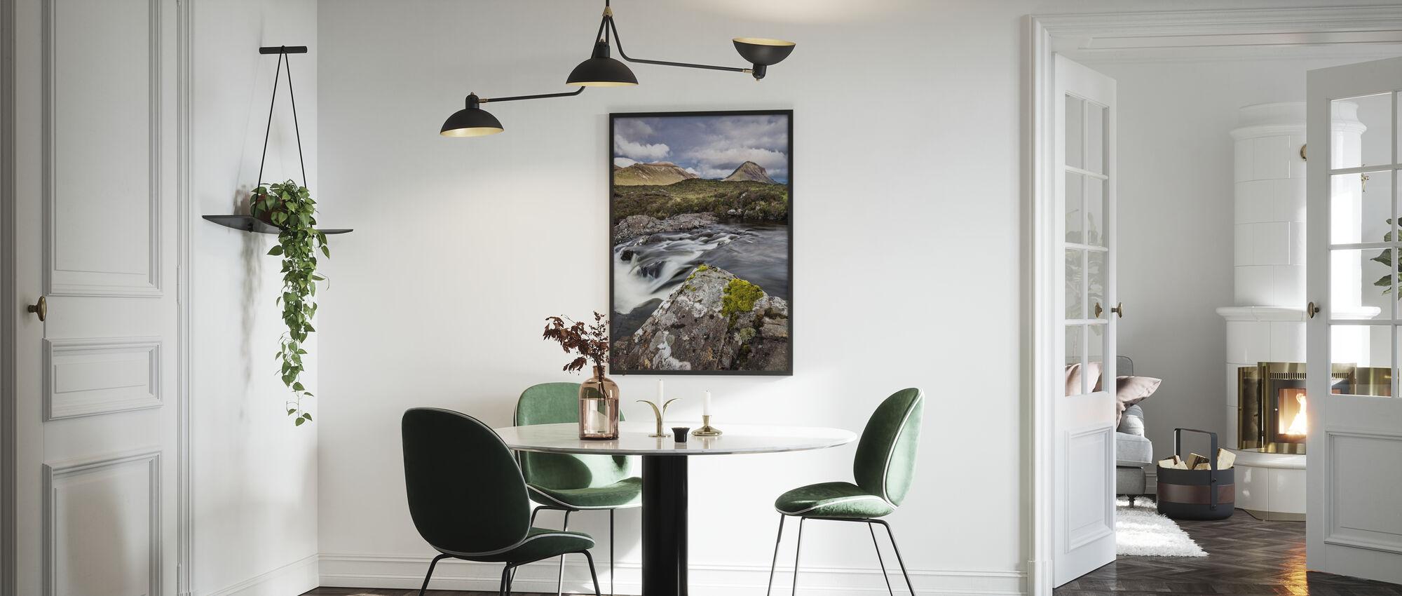 Beautiful Landscape, Isle of Skye - Schottland - Gerahmtes bild - Küchen