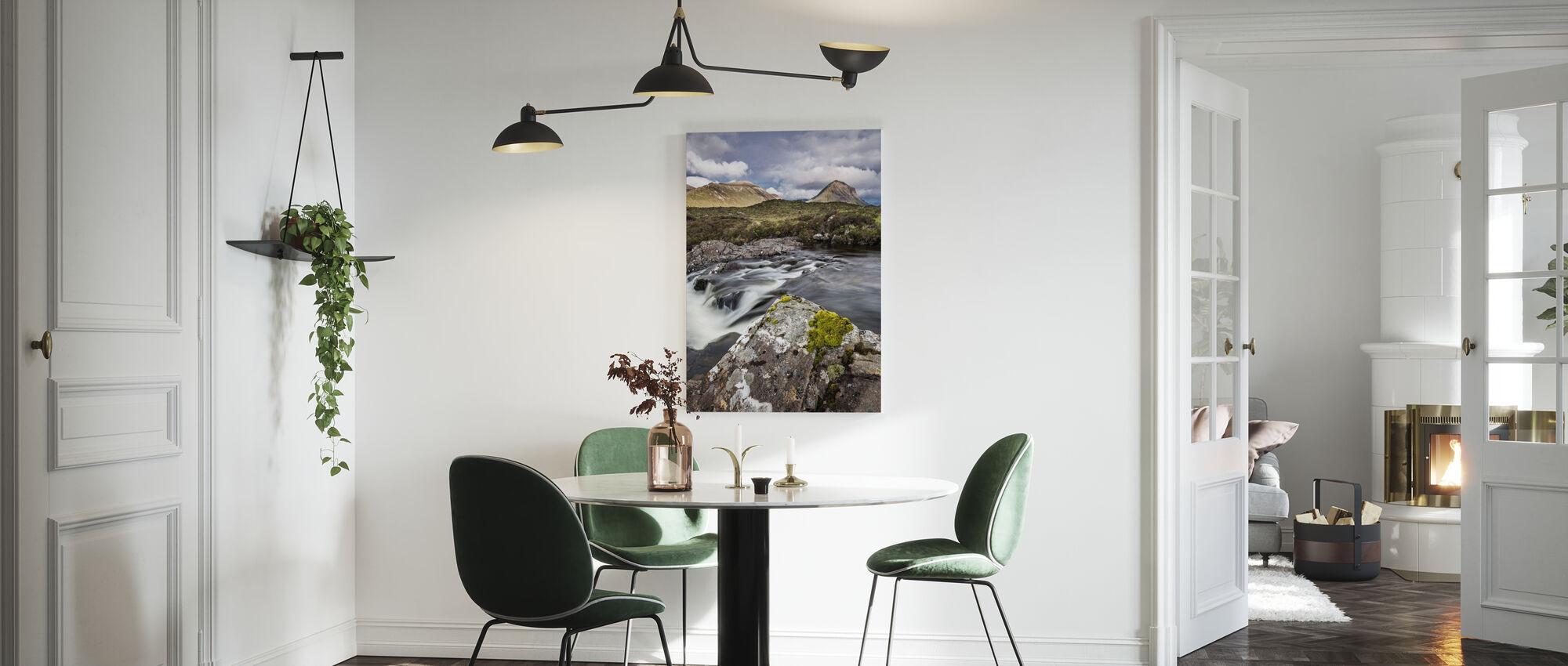 Piękny krajobraz, Wyspa Skye - Szkocja - Obraz na płótnie - Kuchnia