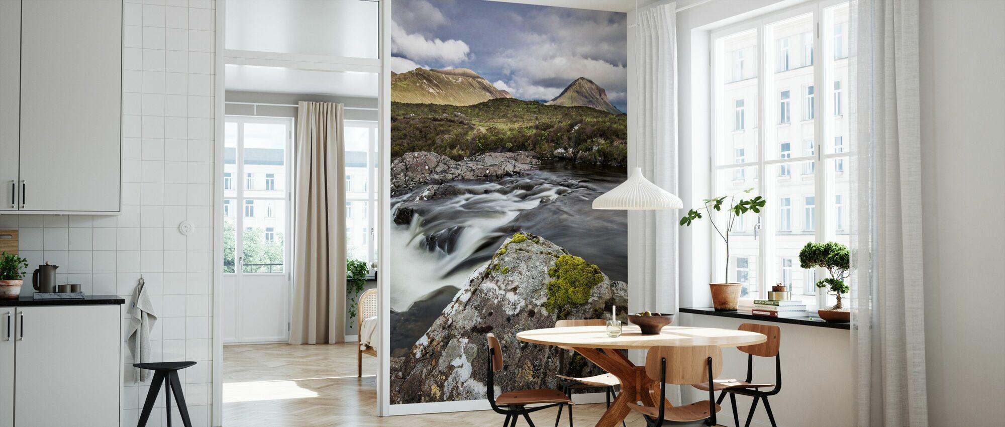 Beautiful Landscape, Isle of Skye - Scotland - Wallpaper - Kitchen