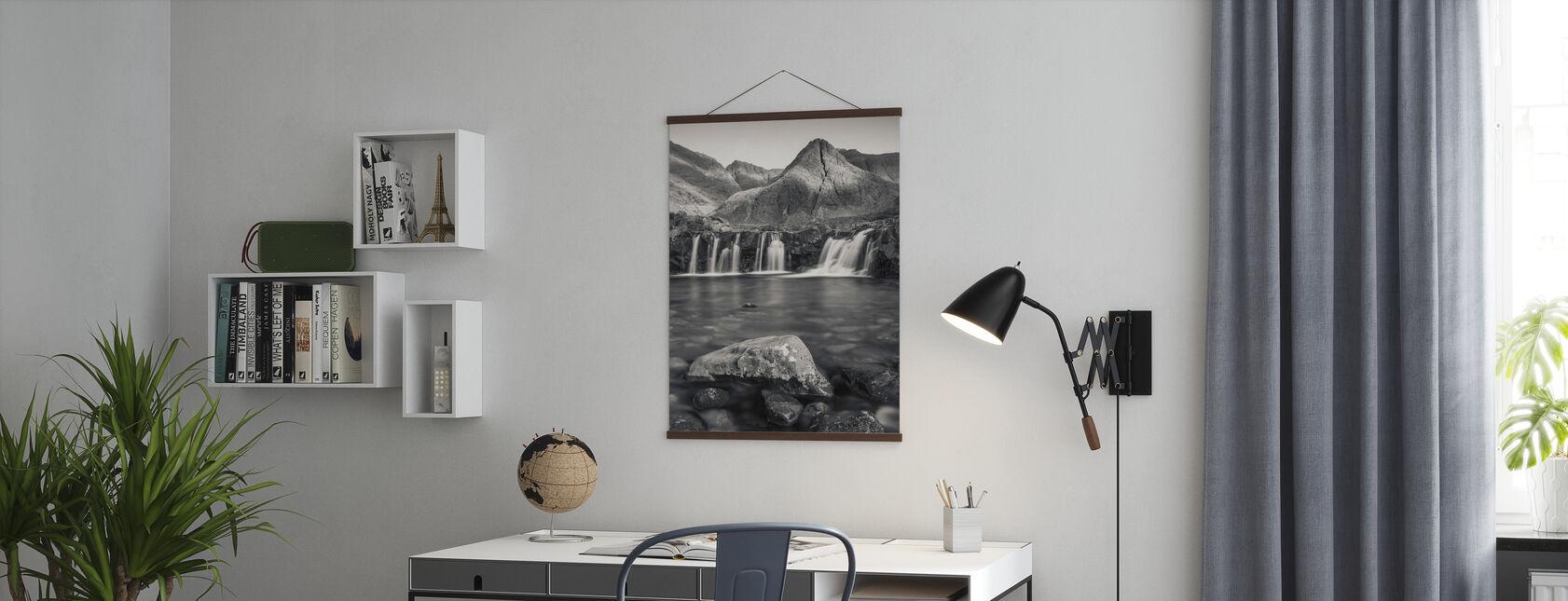 Fairy Zwembaden, Isle of Skye - Schotland - Poster - Kantoor