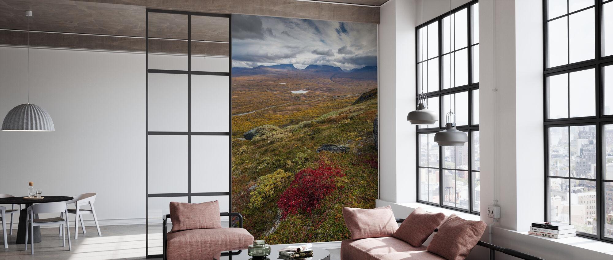 Nuolja Mountain, Abisko - Sweden - Tapet - Kontor