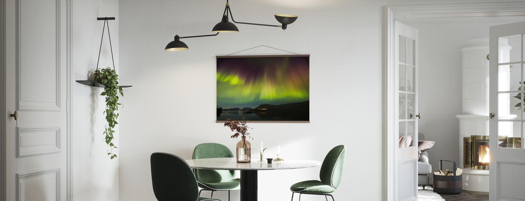 Northern Lights in Torneträsk - Sweden - Poster - Keuken