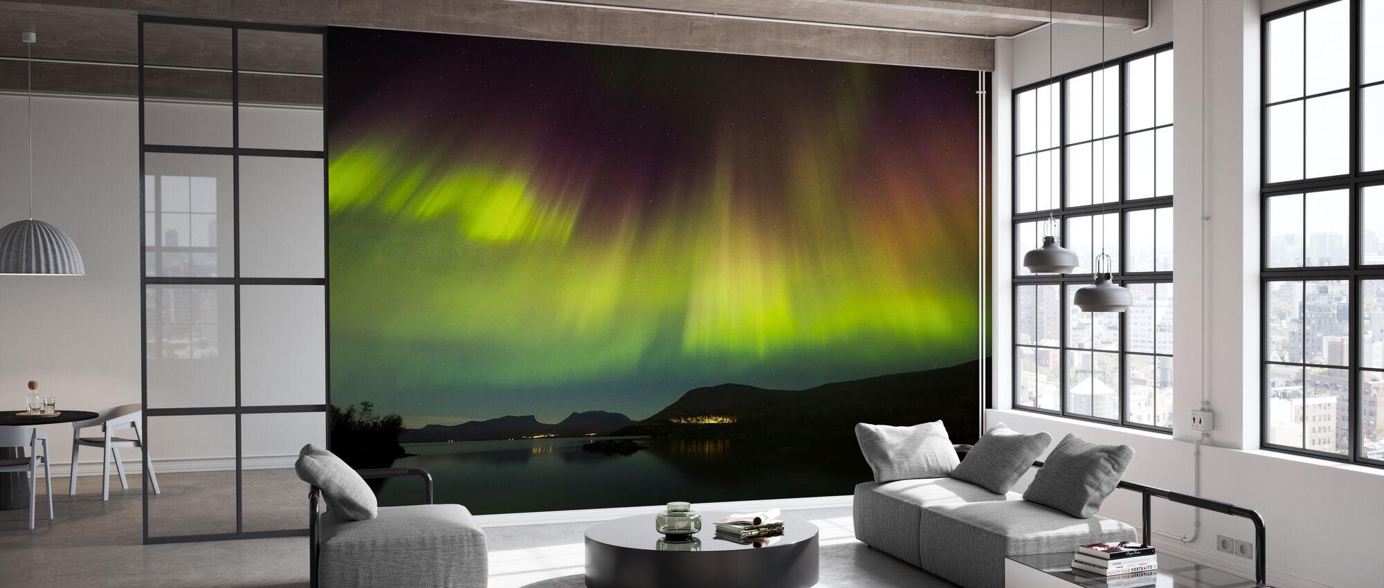 Northern Lights in Torneträsk - Sweden - Tapetti - Toimisto
