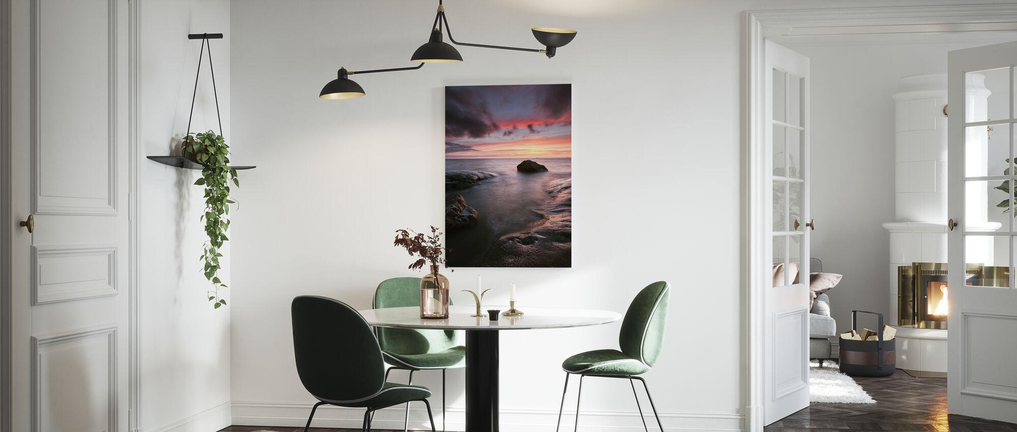Sunset, Hönö - Sweden - Canvastavla - Kök