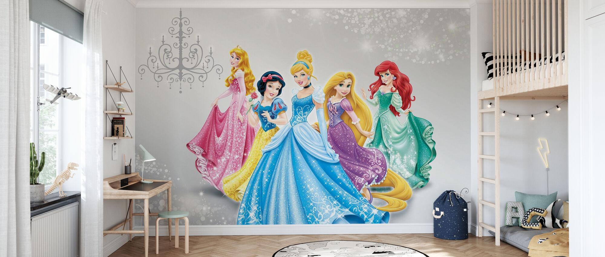 Disney Princess - Tapet - Barnrum