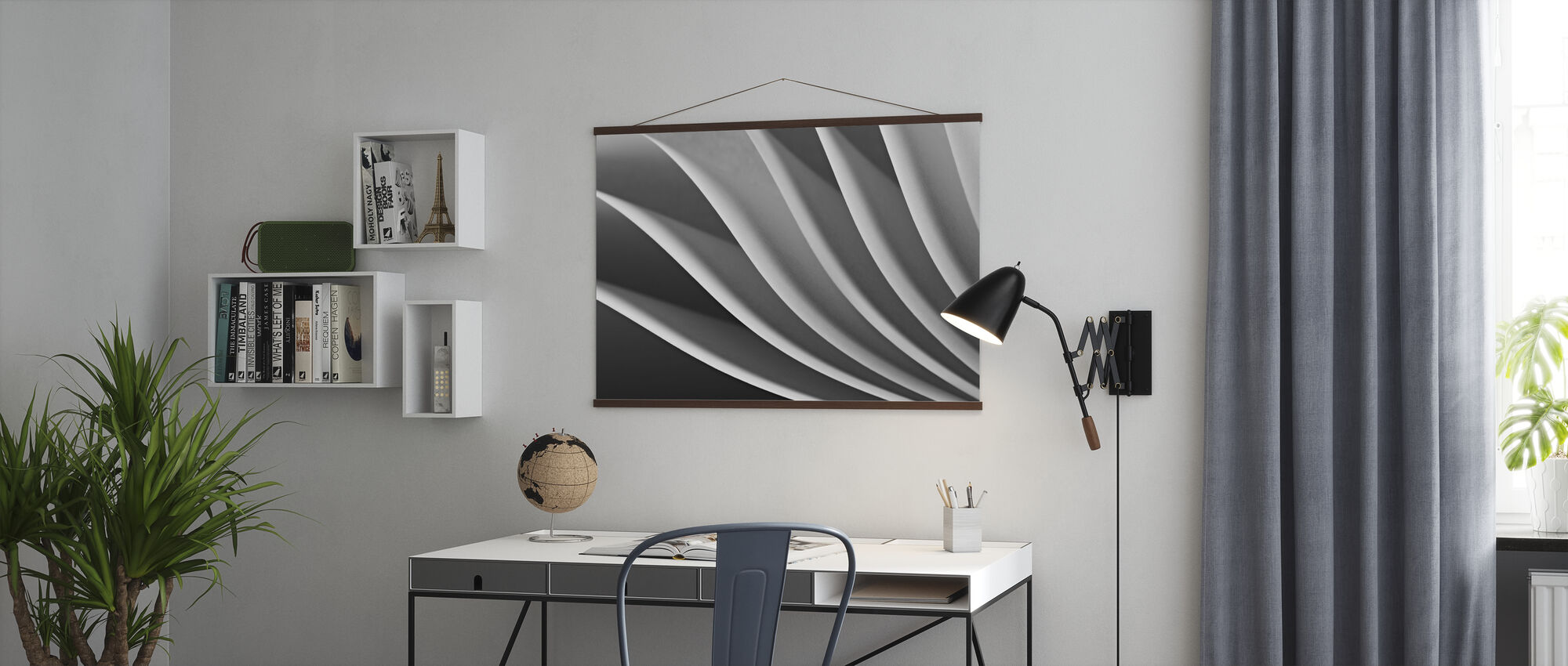 Paper Wave - Poster - Office