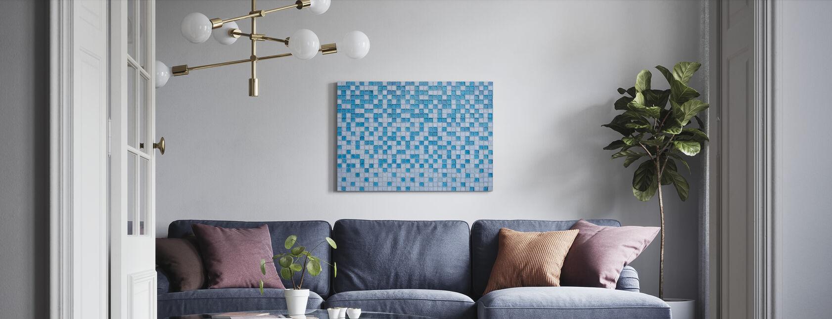 Miami Mosaik - Canvastavla - Vardagsrum
