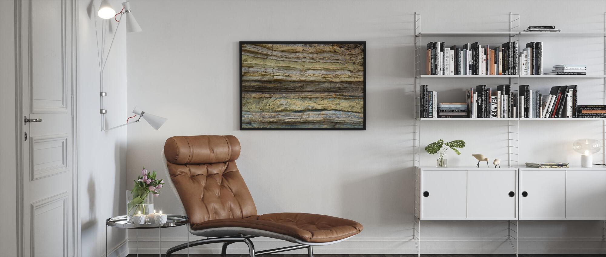 Riffstruktur - Poster - Wohnzimmer