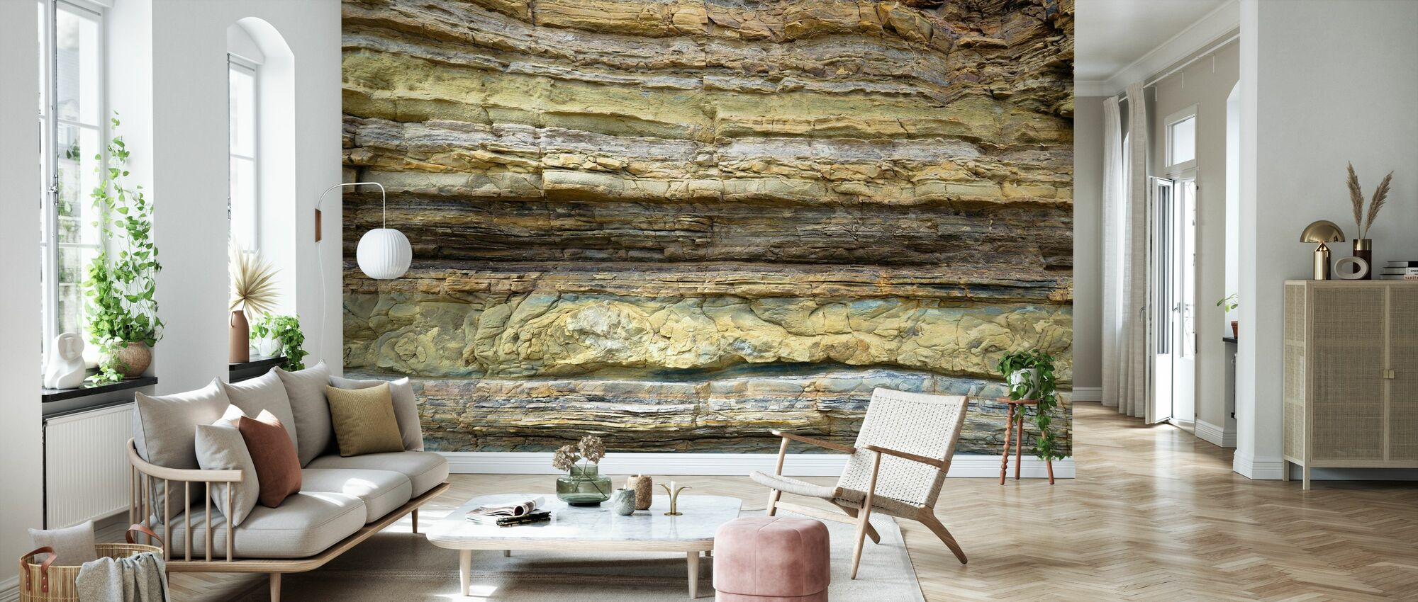 Reef Structure - Wallpaper - Living Room