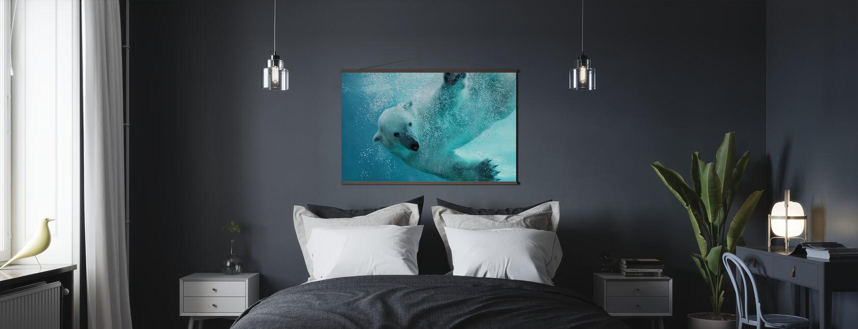 Undervanns isbjørn - Plakat - Soverom