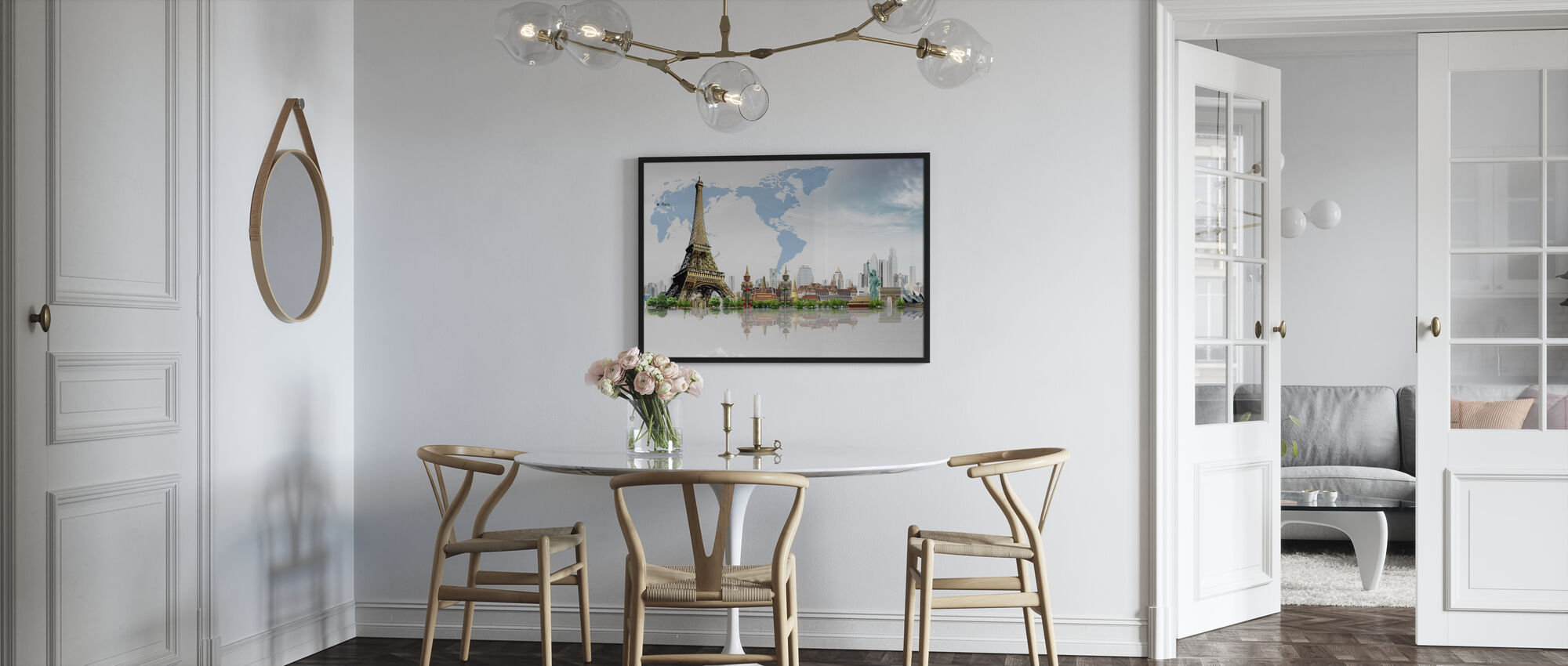 Travel Concept - Poster - Kitchen