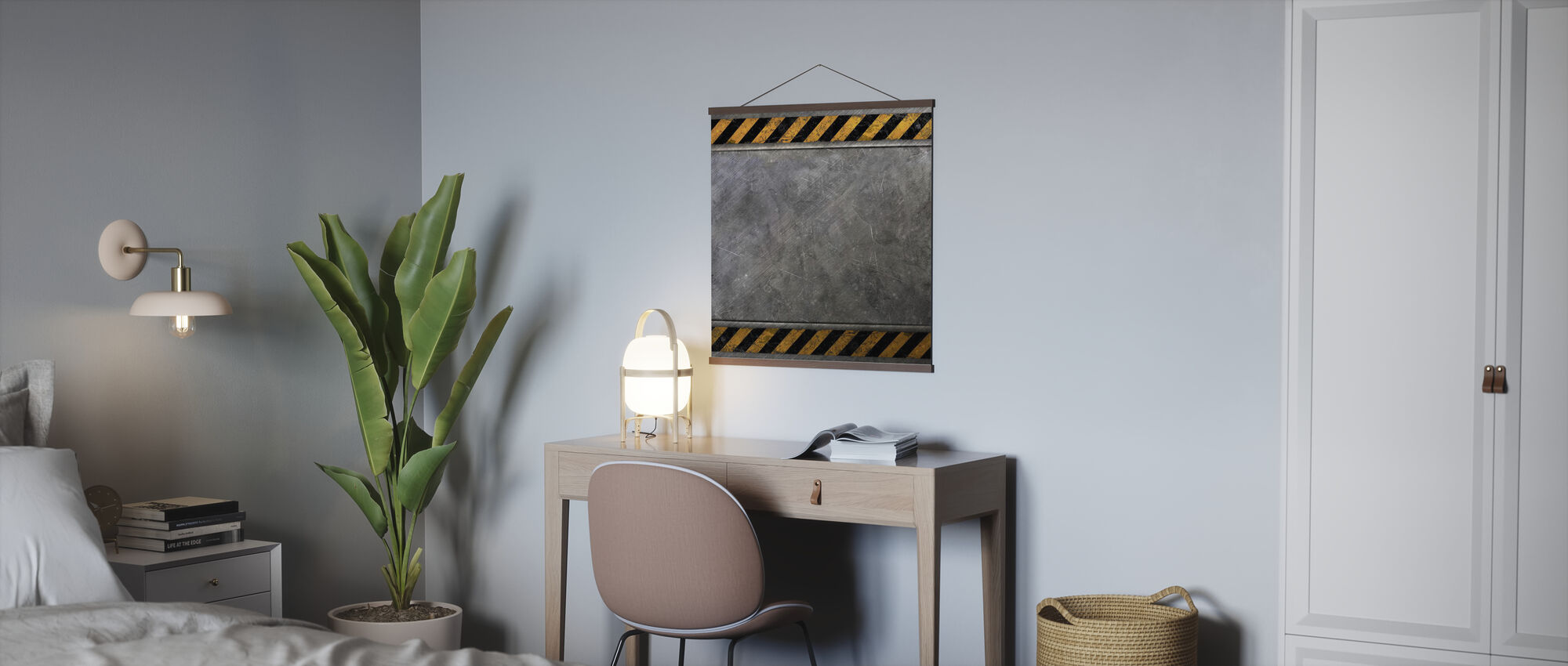 Steel Plate - Poster - Office