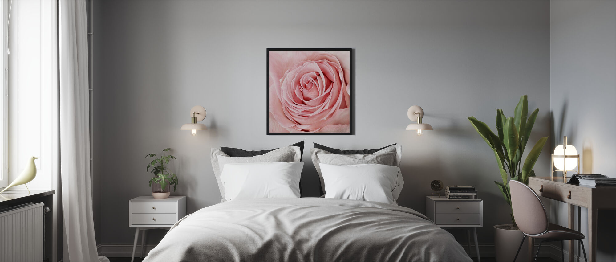 Solitary - Framed print - Bedroom