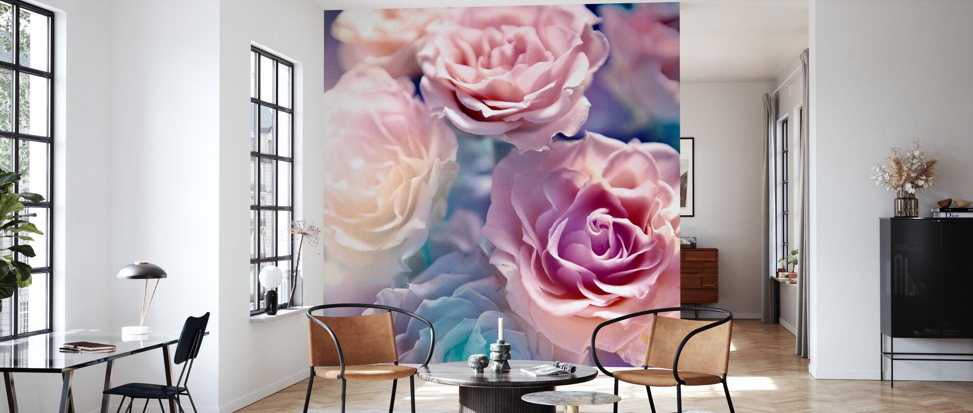 Soft Botanic - Wallpaper - Living Room