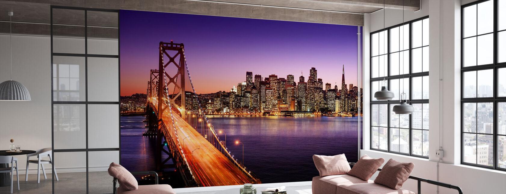 San Francisco Bay Bridge - Tapete - Büro