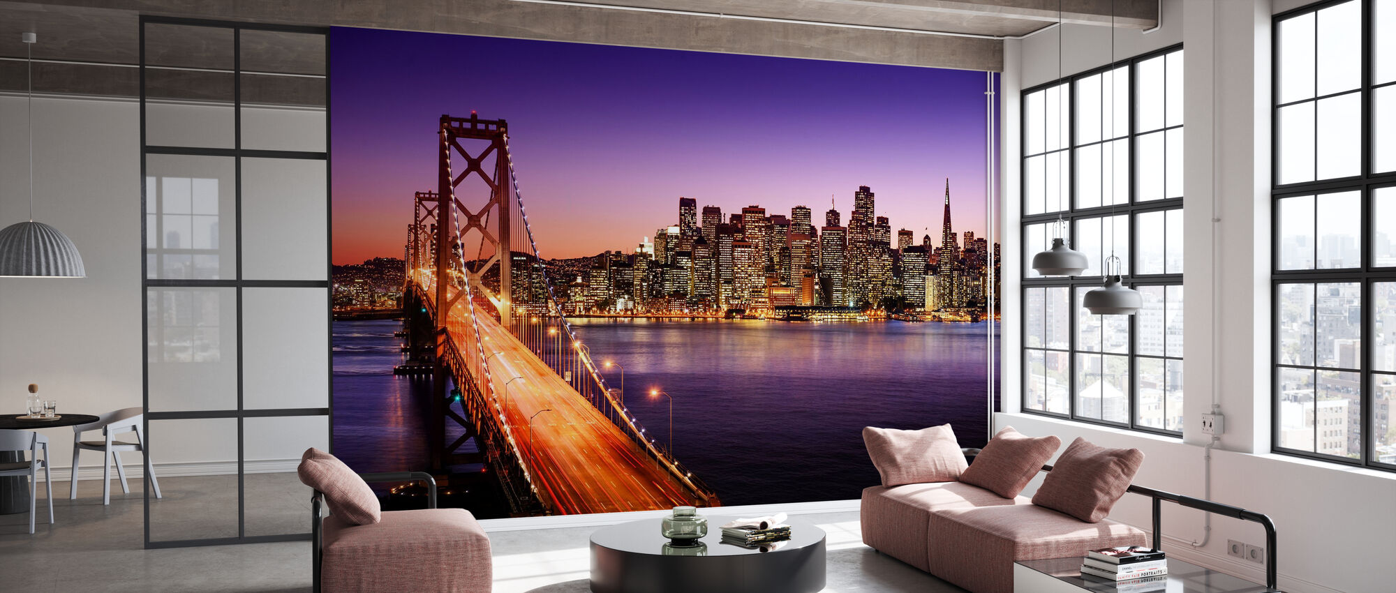 San Francisco Bay Bridge - Wallpaper - Office