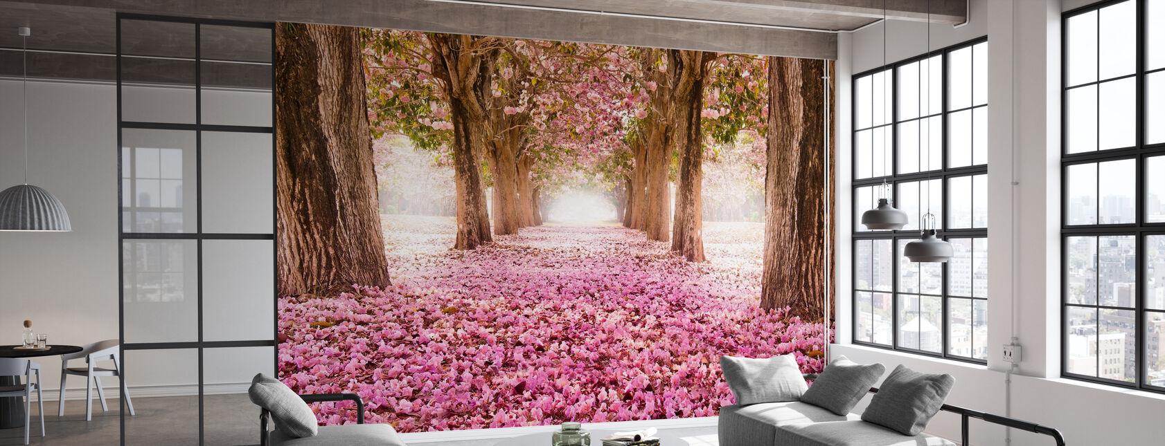 Romantic Tunnel - Wallpaper - Office