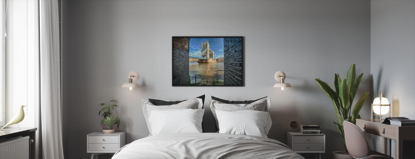 Alternative Blick auf die Tower Bridge - Poster - Schlafzimmer